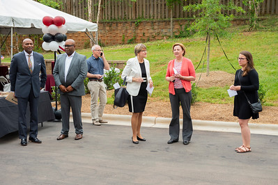 The Mulberry Ribbon Cutting Ceremony CMHP 523-19 by Jon Strayhorn