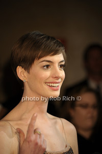 Anne Hathaway Museum of the Moving Images Salutes Hugh Jackman at Cipriani 55 Wall Street Arrivals New York City, USA- 12-11-12 photo by Rob Rich/SocietyAllure.com © 2012 robwayne1@aol.com 516-676-3939