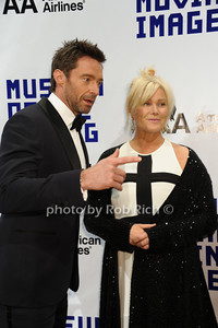 Hugh Jackman, Deborra-Lee Furness  Museum of the Moving Images Salutes Hugh Jackman at Cipriani 55 Wall Street Arrivals New York City, USA- 12-11-12 photo by Rob Rich/SocietyAllure.com © 2012 robwayne1@aol.com 516-676-3939
