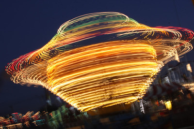 The Night of Trippy Lights, Local Carnival in Pembroke Pines, Fla., Dec. 30, 2011