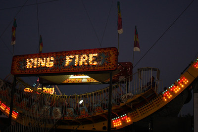 """The """"Ring of FIre"""" standing """"still."""""""