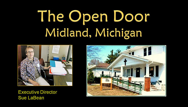 The Open Door, Executive Director, Sue LaBean, Midland, Michigan