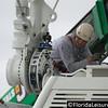 Final capsule is mounted to Orlando Eye, International Drive, Orlando -  6 February 2015 (Photographer: Nigel G. Worrall)