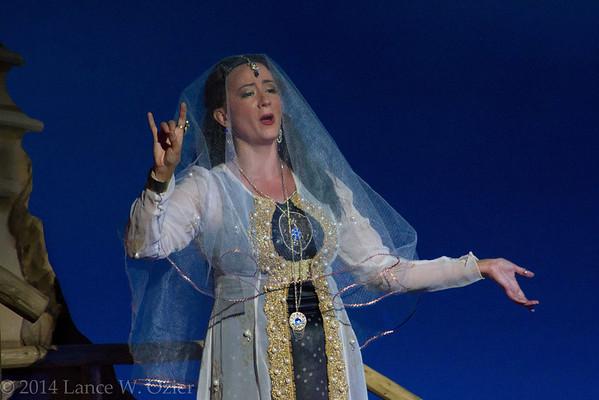 Shana Blake Hill, soprano, as Leila.