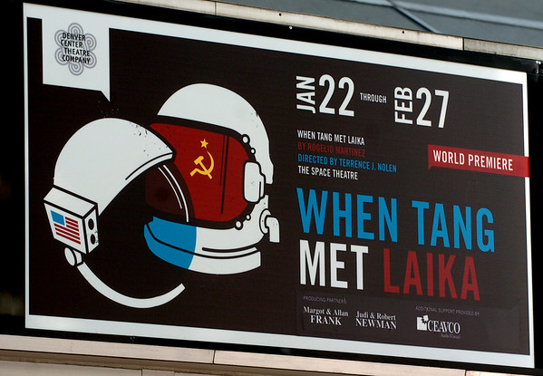 "The Denver Center Theatre will be presenting  the play, ""When Tang Met Laika,"" with Terrence Nolan directing, and Jessica Love and Ian Merrill Peakes playing lead roles.<br /> Cliff Grassmick / January  8, 2010"