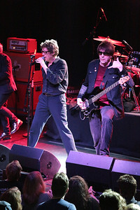 Richard Butler (left) and his brother Tim on stage at Fete in Providence. - June 2013