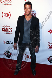 HOLLYWOOD, CA - JUNE 07:  Singer Jason Hemmens arrives at the (RED)RUSH Games party at Avalon on June 7, 2012 in Hollywood, California.  (Photo by Chelsea Lauren/WireImage)