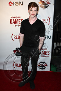HOLLYWOOD, CA - JUNE 07:  Actor Cameron Monaghan arrives at the (RED)RUSH Games party at Avalon on June 7, 2012 in Hollywood, California.  (Photo by Chelsea Lauren/WireImage)
