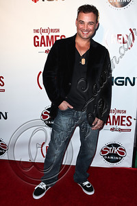 HOLLYWOOD, CA - JUNE 07:  Actor Vincent Flood arrives at the (RED)RUSH Games party at Avalon on June 7, 2012 in Hollywood, California.  (Photo by Chelsea Lauren/WireImage)