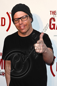 HOLLYWOOD, CA - JUNE 07:  Drummer Dennis Shinn arrives at the (RED)RUSH Games party at Avalon on June 7, 2012 in Hollywood, California.  (Photo by Chelsea Lauren/WireImage)
