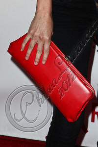 HOLLYWOOD, CA - JUNE 07:  Actress Brea Grant (clutch detail) arrives at the (RED)RUSH Games party at Avalon on June 7, 2012 in Hollywood, California.  (Photo by Chelsea Lauren/WireImage)