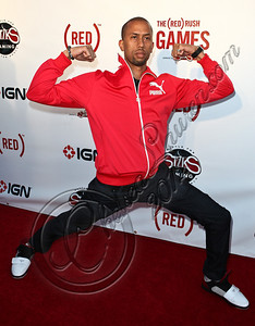 HOLLYWOOD, CA - JUNE 07:  Actor / comedian Affion Crockett arrives at the (RED)RUSH Games party at Avalon on June 7, 2012 in Hollywood, California.  (Photo by Chelsea Lauren/WireImage)
