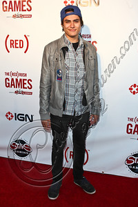 HOLLYWOOD, CA - JUNE 07:  Actor Kiowa Gordon arrives at the (RED)RUSH Games party at Avalon on June 7, 2012 in Hollywood, California.  (Photo by Chelsea Lauren/WireImage)