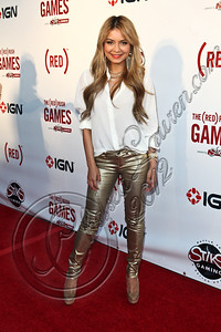 HOLLYWOOD, CA - JUNE 07:  DJ Havana Brown arrives at the (RED)RUSH Games party at Avalon on June 7, 2012 in Hollywood, California.  (Photo by Chelsea Lauren/WireImage)