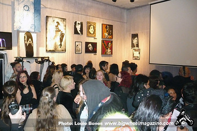 The Rozz Williams Fan Tribute Exhibit - at Lethal Amounts - Los Angeles, CA - April 1, 2013