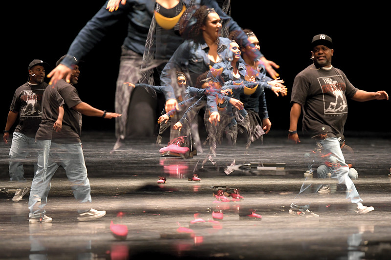 Matthew Gaston | The Sheridan Press<br>The Tapestry Dance Company's tap performance at Sheridan High School Thursday, April 18, 2019, was colorful, thought-provoking and deeply personal. Tapestry Dance Company will be performing at the WYO Performing Arts and Education Center Saturday, April 20, 2019.