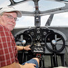 John P. Cleary | The Herald Bulletin<br /> 1929 Ford Tri-Motor airplane pilot Dave Ross.