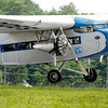 John P. Cleary | The Herald Bulletin<br /> Historic 1929 Ford Tri-Motor airplane flies into Anderson Municipal Airport.