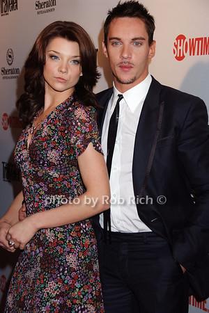 Natalie Dormer, Jonathan Rhys Meyers photo by Rob Rich © 2008 robwayne1@aol.com 516-676-3939