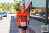 """Kicking off with the """"sermon on the truck"""", runners traversed the Razorback Greenway, roads, and a creek crossing going from Bentonville Square to Fayetteville Square for the unofficial Square 2 Square Marathon."""