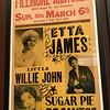 Fillmore Auditorium - Etta James, Little Willie John & Sugar Pie Desantos