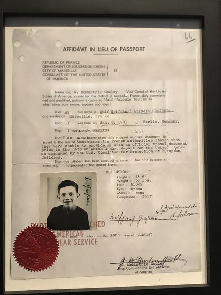Affidavit in Lieu of Passport