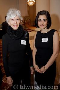 Harriet Ross and Fati Farmanfarmaian