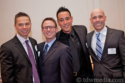 Tim Aliviado, Peter Borkon, Harold Abrego and Dr. Steve Martel