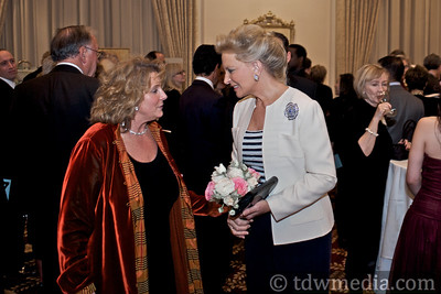 Jean Rowcliffe-Executive DIrector of The Village Well and Princess Michael of Kent