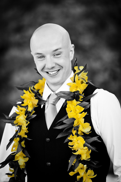 BW James with Colored Flowers.jpg