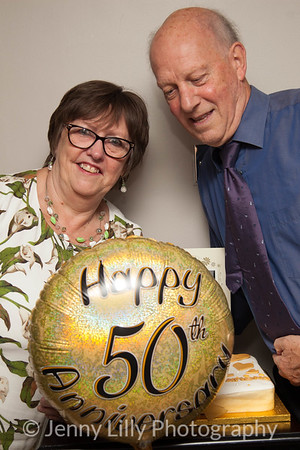 The Wilsons 50th Wedding Anniversary