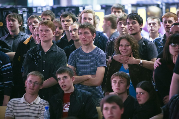 The Witcher 2 launch in Kiev