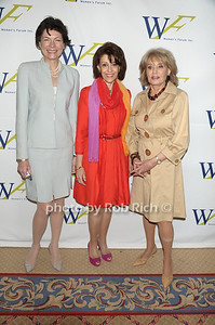 Diana Taylor, Evelyn Lauder, Barbara Walters photo by Rob Rich © 2011 robwayne1@aol.com 516-676-3939