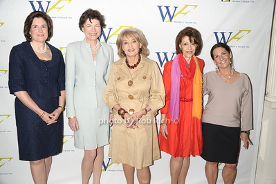 Lisa Caputo, Diana Taylor,Barbara Walters, Evelyn Lauder,Bobbi Brown photo by Rob Rich © 2011 robwayne1@aol.com 516-676-3939