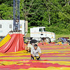 Employees for the Cole Bros. Circus work to get the big top up early on Friday morning.SENTINEL & ENTERPRISE/JOHN LOVE