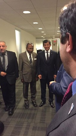 The Mosque Cares Attends Meeting With Turkish Prime Minister