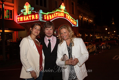 041510 Sonoma International Film Festival Opening Night at the Sebastiani Theatre followed by music by New Mastersound at Little Switzerland.