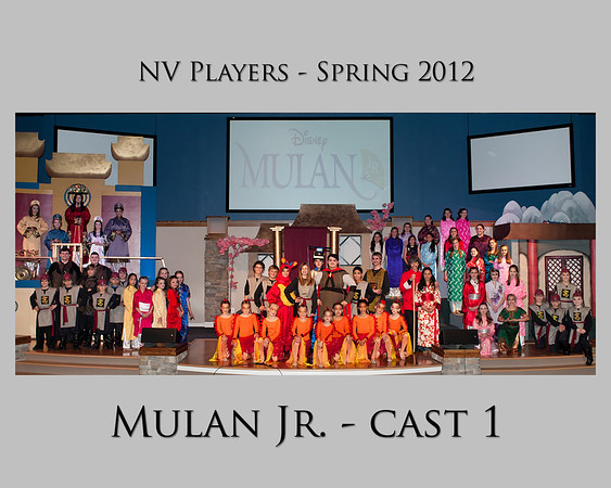 NVP Mulan Jr - Cast Photos