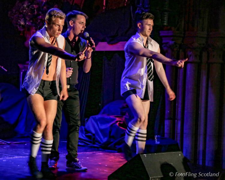 Drew Gowland  with Kieran Cooper & Sonny Grieveson