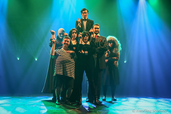 Addams Family Sequence from MGA's 'Ten'