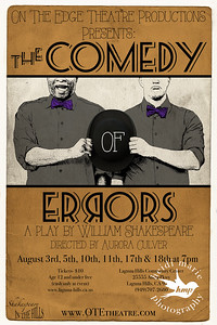 comedy of errors poster 20x30