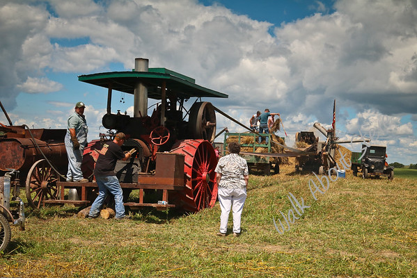 Theilman Threshing '16