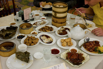 A fantastic Dim Sum, but slightly too much for the four of us.