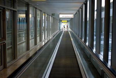 Geneva airport.
