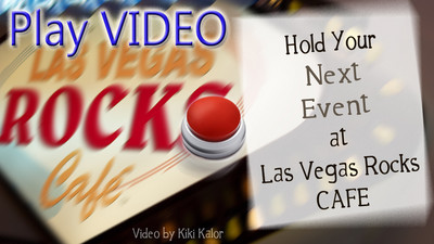 Book your next Event, Wedding, Banquet, Music Festival, Concert, Play at Las Vegas Rocks Cafe in downtown Las Vegas on the corner of Las Vegas Blvd and Fremont Street. Underground parking. Call 702-227-5972 Driving instructions Map    http://bit.ly/b0clws  Las Vegas Rocks Cafe address and phone contact 450 Fremont St Las Vegas, NV 89101 (702) 227-5872