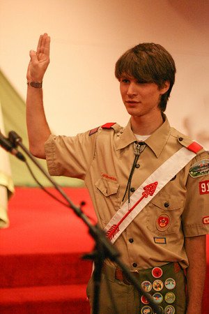 Thomas Bamford Eagle Scout Court of Honor