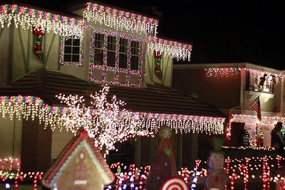 Thoroughbred Christmas Lights Rancho Cucamonga 2011