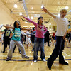 Maybe it was past their bedtime.<br /> A few hundred people danced to Michael Jackson's Thriller at the Paul Derda Recreation  Center to be part of a Guinness World record across the country.<br /> Cliff Grassmick / October 24, 2009