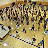 "A few hundred people danced to Michael Jackson's Thriller at the Paul Derda Recreation  Center to be part of a Guinness World record across the country and to benefit ""A Precious Child"" charity.<br /> Cliff Grassmick / October 24, 2009"