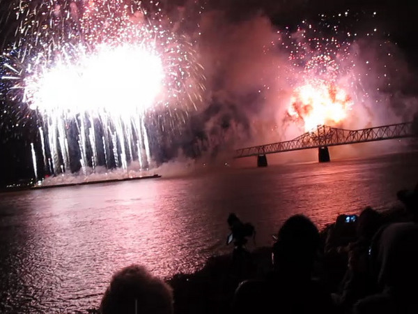 Thunder Over Louisville 2011 - fireworks - finale